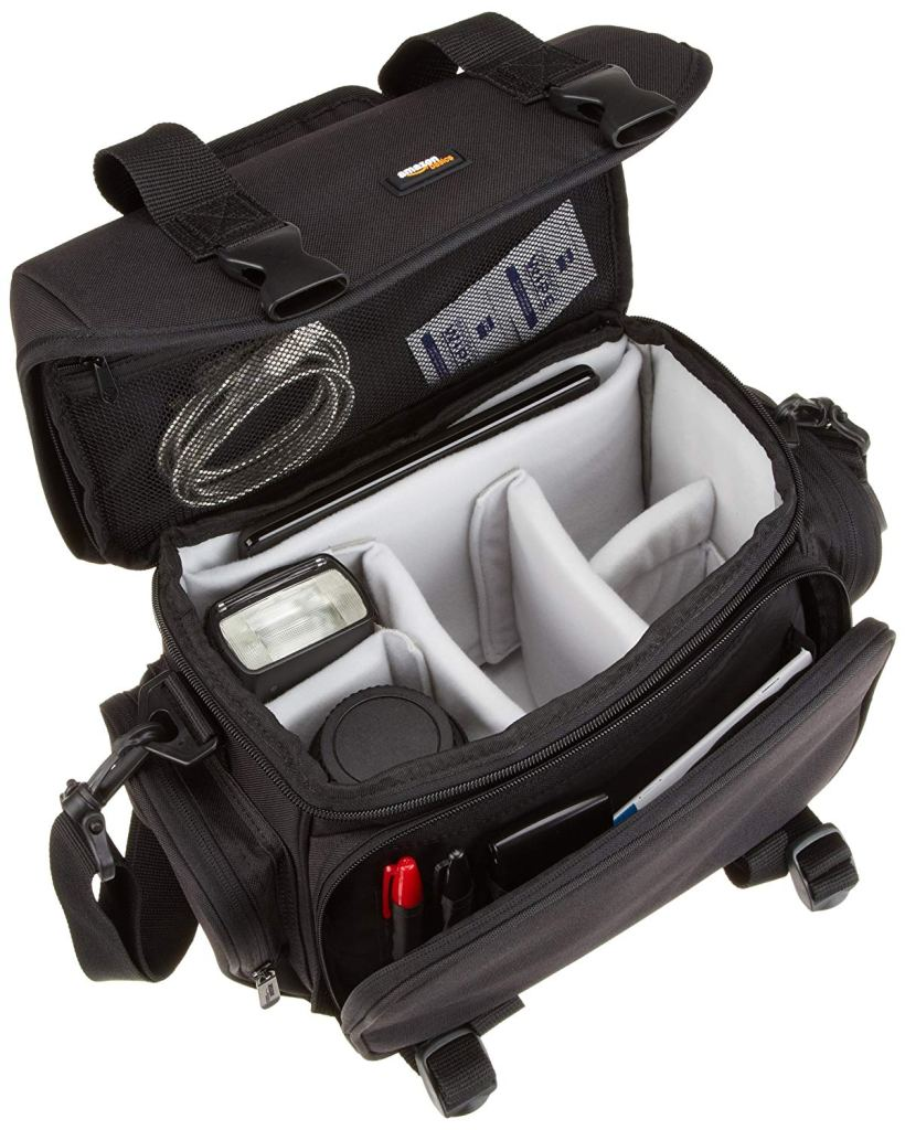 gadget bag, camera, lenses,
