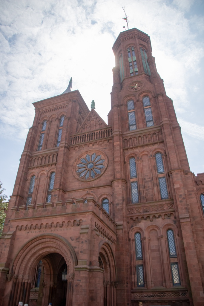 Smithsonian Castle, Washington DC, Capital, USA, America, Travel, Vacation, road trip,