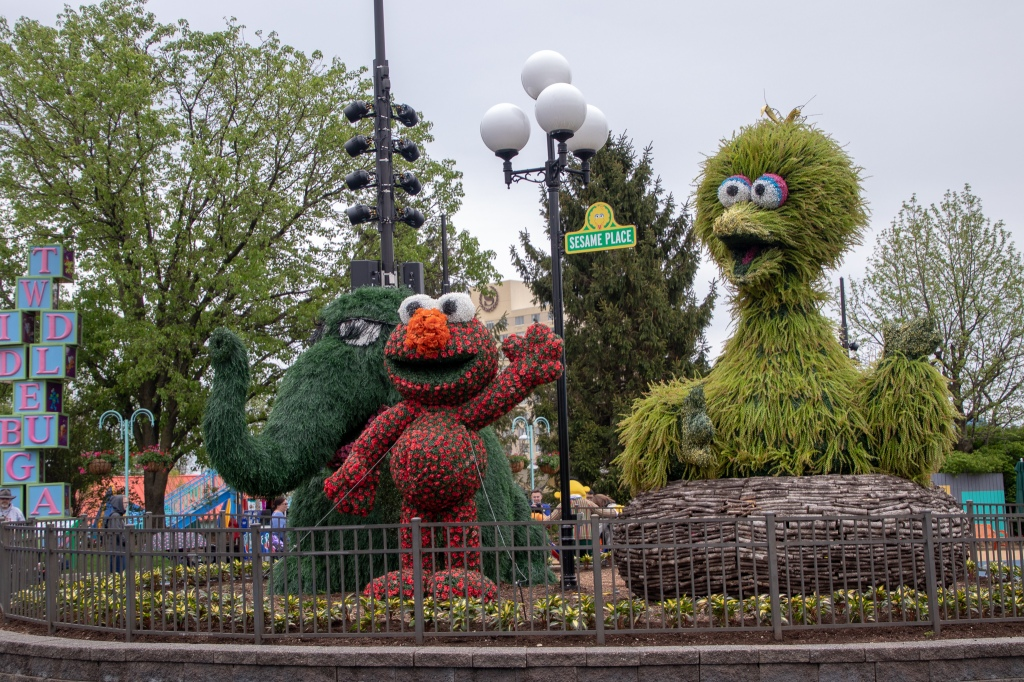 Sesame Place, Bucks County PA, Theme Park, Sesame Street