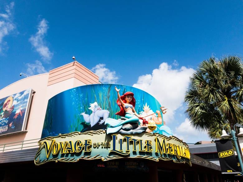 top ten, FastPass+, FastPass, FP+, Fast Pass, WDW, Walt Disney World, rides, attractions, show, Voyage of the Little Mermaid, Ariel, Hollywood, Studios,