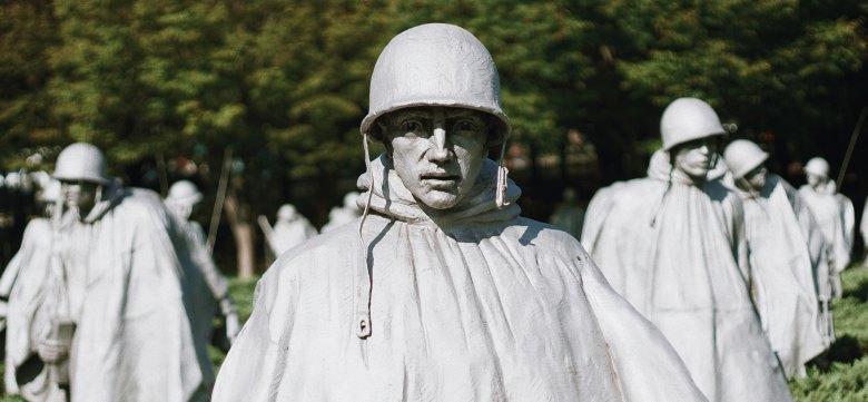 Korean War Memorial, Washington, DC,