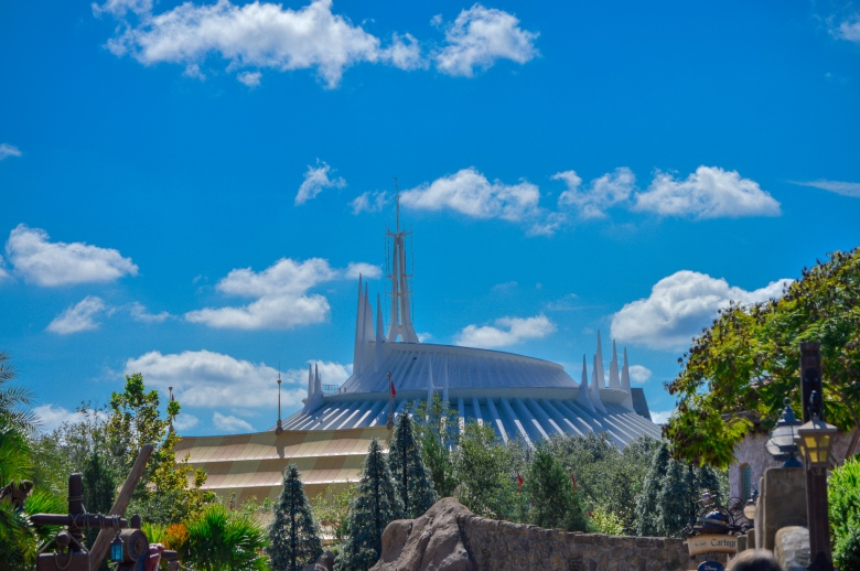 Space Mountain, Magic Kingdom, Walt Disney World, Roller Coaster