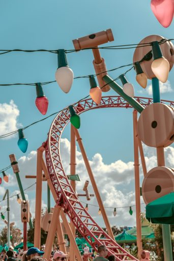 Toy story land, Hollywood Studios, WDW, Walt Disney World, Slinky Dog Dash