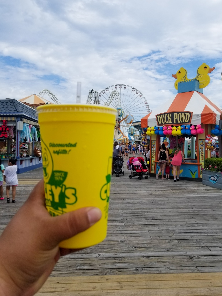 wildwood, Morey's pier, new jersey, shore, boardwalk