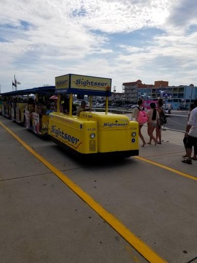 Tram Car, Wildwood, New Jersey, Boardwalk, Shore