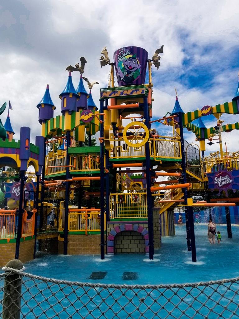 Splash Castle, Sesame Place, Water Ride,