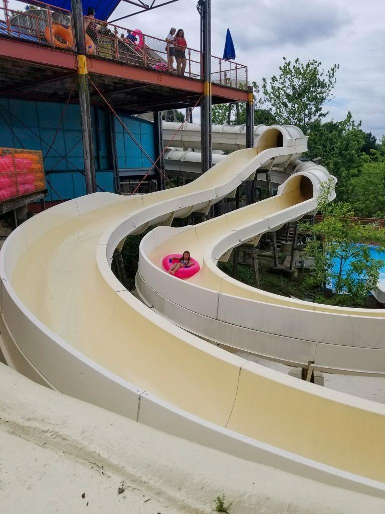 water slide, Sesame Place, tube, fun,