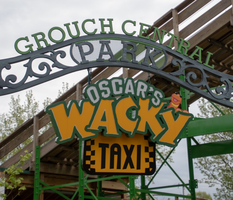 Lincoln Highway, Transcontinental, Road Trip, Family Vacation, Pennsylvania, Route 30, PA,  Roller Coaster, Theme Park, Sesame Place, Oscar's Wacky Taxi