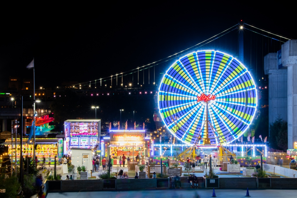 Penn's Landing, Blue Cross RiverRink, Farris Wheel,