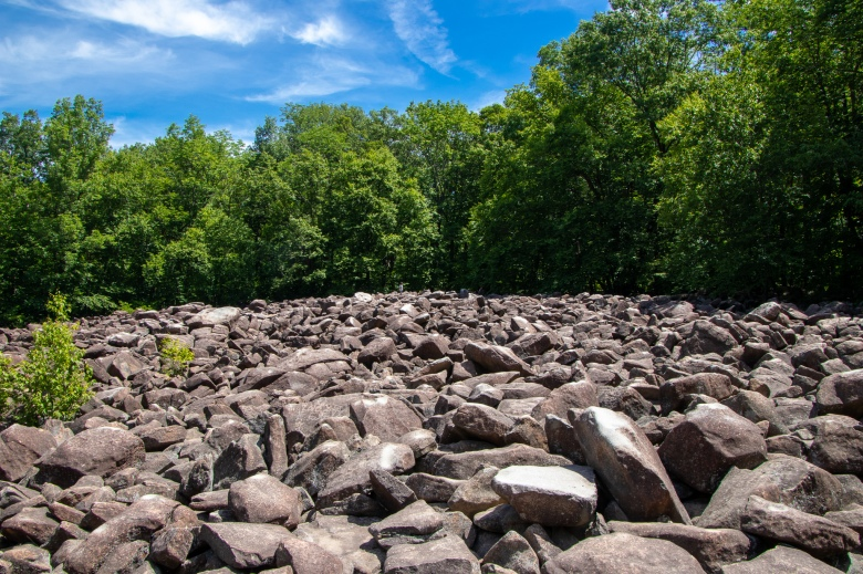 Bucks County, PA, Pennsylvania, vacation, fun, Delaware Valley, rocks, Ringing Rocks County Park