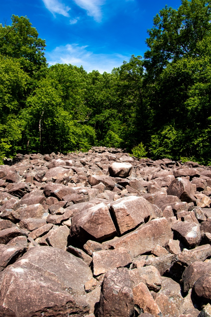 rocks, park, pa, Forrest, hike, Pennsylvania, PA, Keystone State, Road Trip, ringing rocks county park, Bucks County,