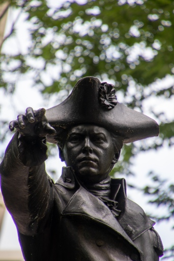 Commodore John Barry, Statue, Philly, Philadelphia, Independence Hall, Independence Mall, National Historical Site