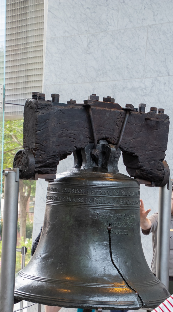 Liberty Bell, Pass and Stow, Freedom