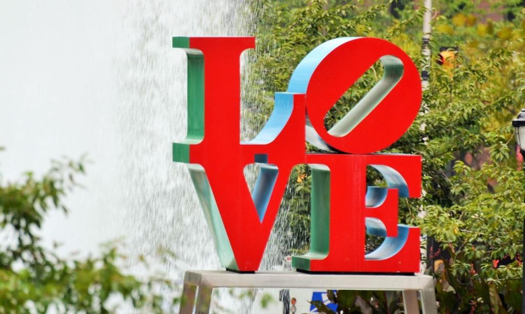 LOVE park, Love statue, Philly, Philadelphia