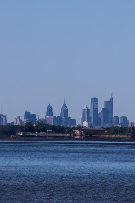 Philly, Philadelphia, Skyline, Center City, Delaware River