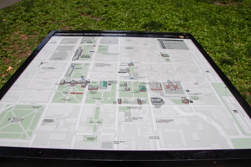 map, national historical park, Independence, Freedom, Philly, Philadelphia, center city