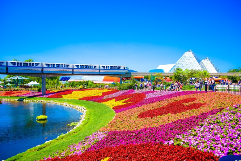 EPCOT, Flower and Garden, WDW, Walt Disney World, Orlando, Summer, Fall, Spring, Winter, Theme Park, Disney,