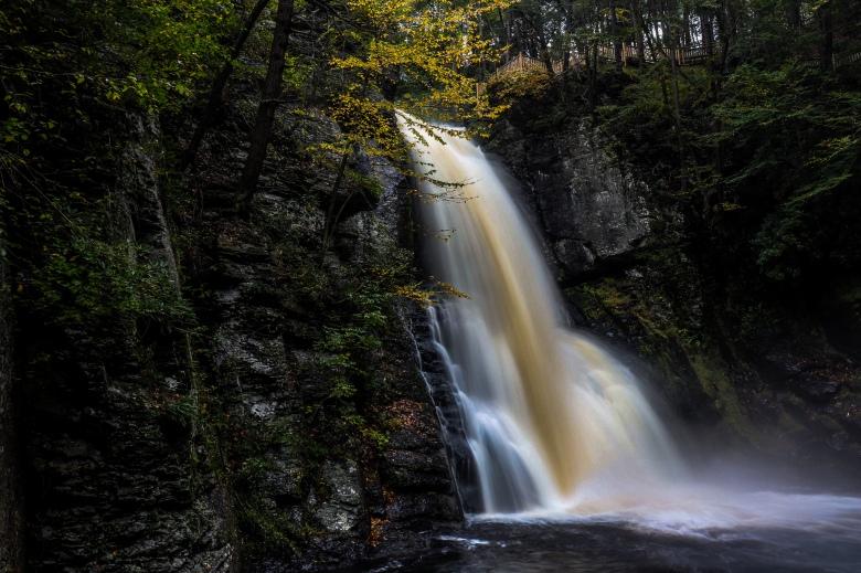 Bushkill Falls, PA waterfall,