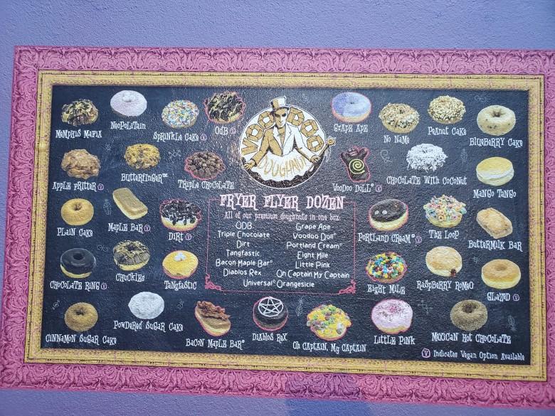 City Walk, VooDoo Doughnut, Walt Disney World, Universal Orlando, Theme Park, Orlando, VS, family friendly, Fun,