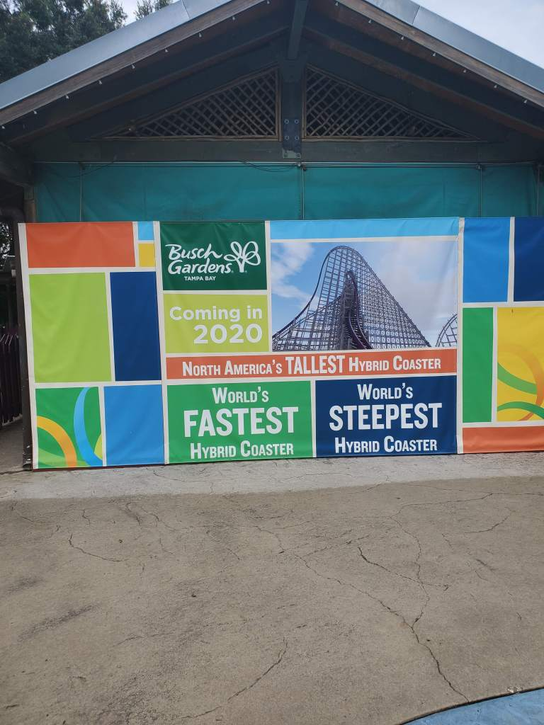 Tallest Hybrid Coaster in North America, Busch Gardens Tampa, World's Fastest Hybrid Coaster, World's Steepest Hybrid Roller Coaster, Iron Gwazi,