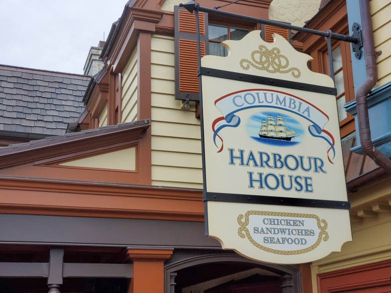 Magic Kingdom, theme park, wdw, Walt Disney World, fun, vacation, family friendly, ddp, disney dining plan, columbia harbout house, fish and chips, seafood