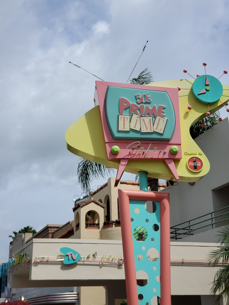 Hollywood Studios, WDW, Walt Disney World, 50's Prime Time Cafe