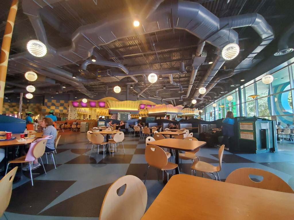 POP Century, POP, WDW, Disney World, Resort, Hotel, Value Resort, Everything POP, Food Court