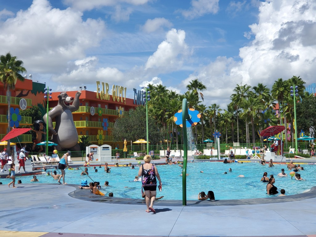 POP Century, POP, WDW, Disney World, Resort, Hotel, Value Resort, Hippy Dippy Pool,