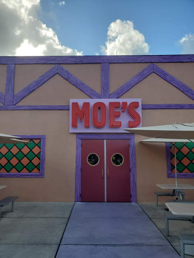 Moe's Tavern from Simpsons fame at Universal Studios Orlando