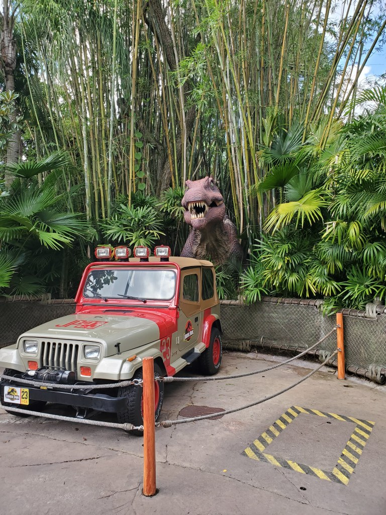 JP Jeep, Jurassic Park, Islands of Adventure