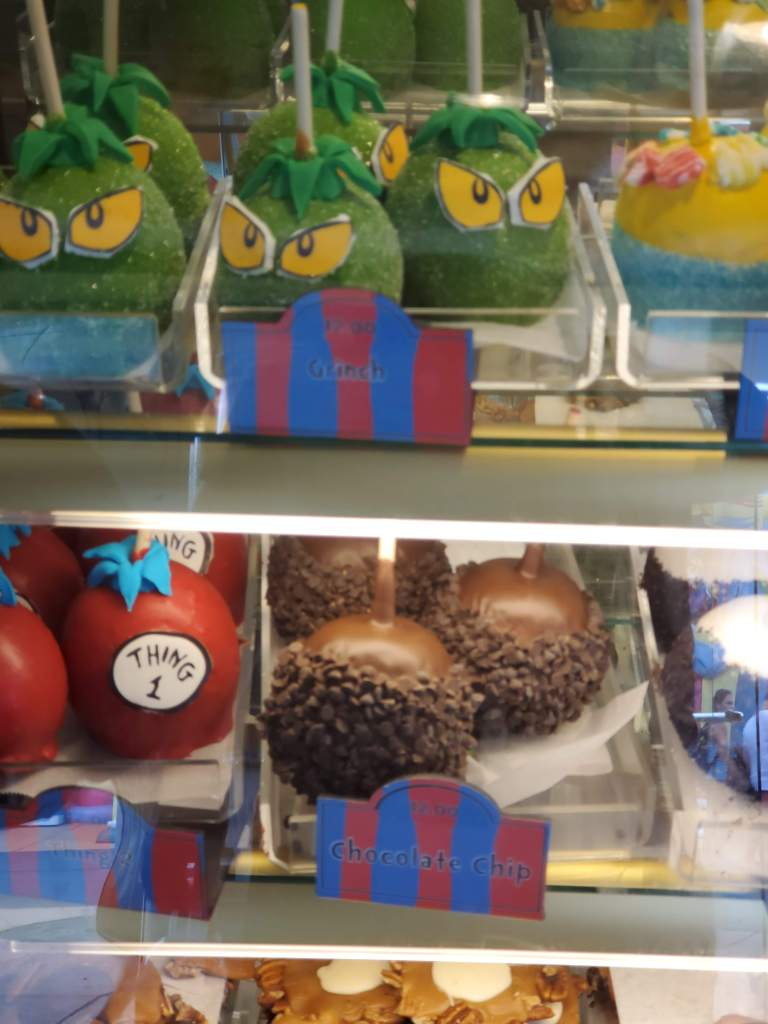 candy apples, Islands of Adventure, IOA, Universal, Orlando, Theme park, good eats,