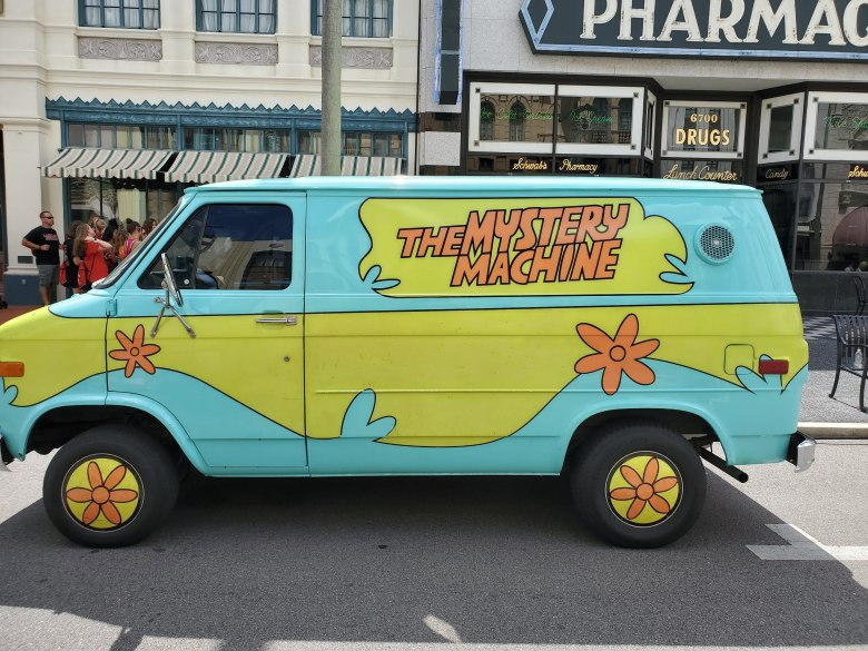 Mystery Machine, Scooby-Doo, Universal Studios Orlando