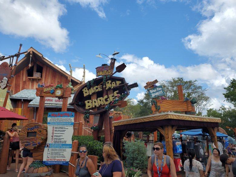 water ride, IOA, Islands of Adventure, Orlando, Universal, Bilge Rat Barges,