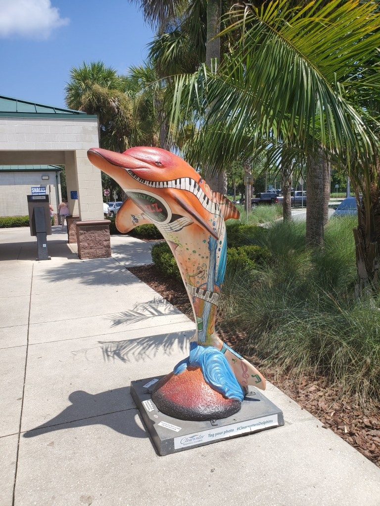Clearwater Dolphins, Florida Welcome Center, I-95, rest stop