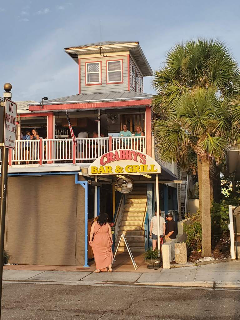 Crabby's Bar & Grill in Clearwater Florida