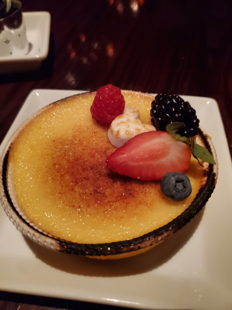 Crème Brûlée, WDW, Magic Kingdom, Be Our Guest, Walt Disney World