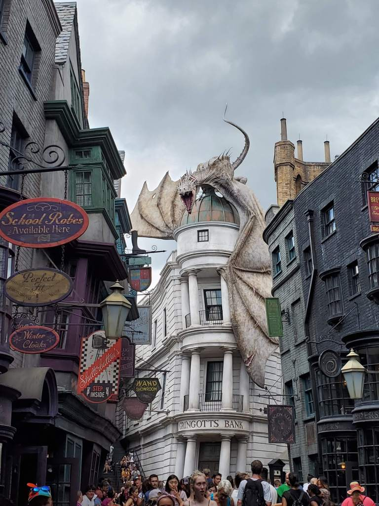 Gringotts Bank at Universal Studios Orlando