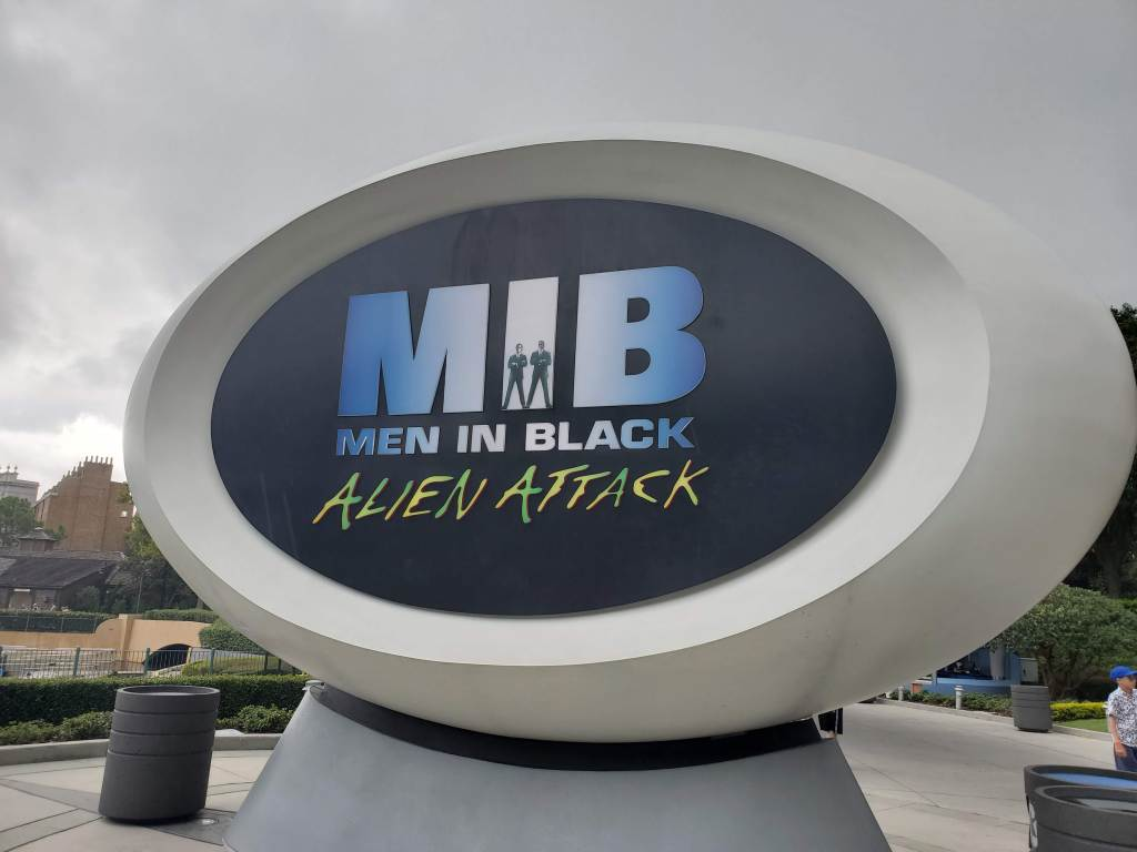 outside look at Men in Black Alien Attack at Universal Studios Orlando