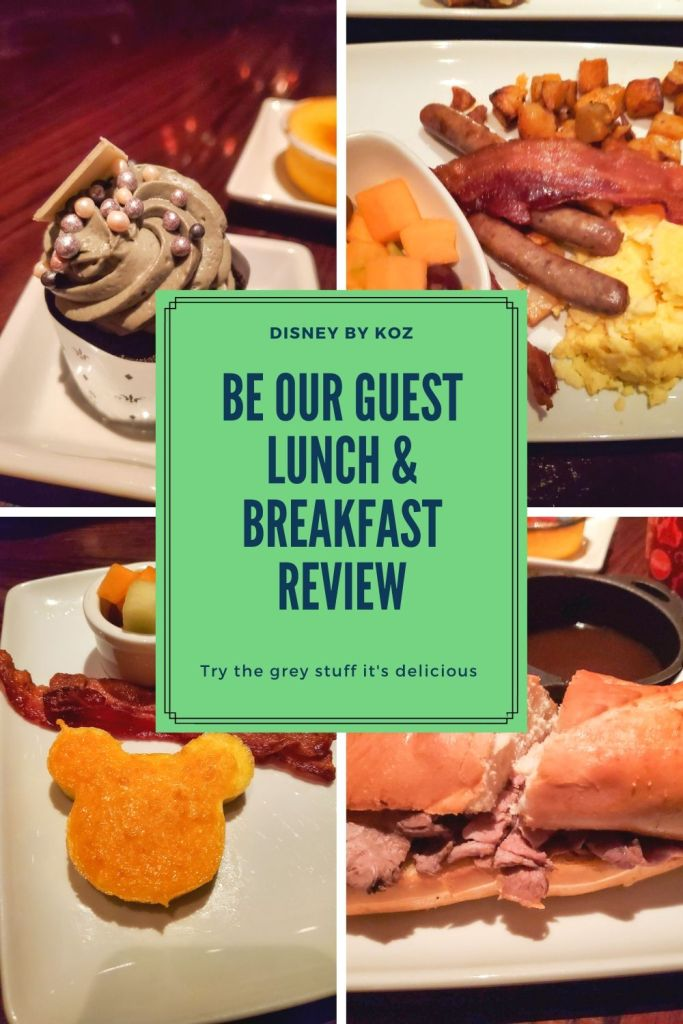 Be Our Guest breakfast and lunch quick service review at Magic Kingdom
