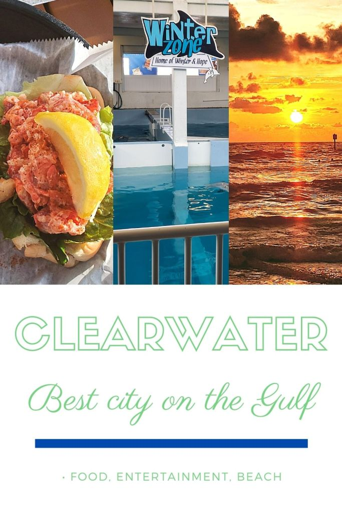 Food, Water, sun and waves at Clearwater
