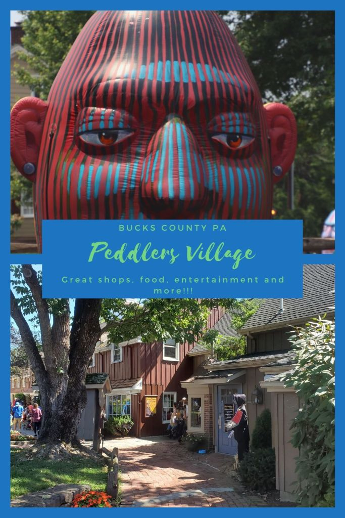 Peddler's Village in Bucks County, PA home to wonderful local owned shoppes.