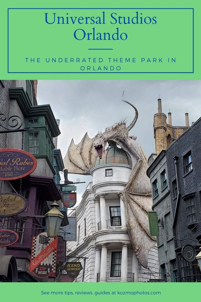 Universal Studios Orlando the greatest theme park ever,