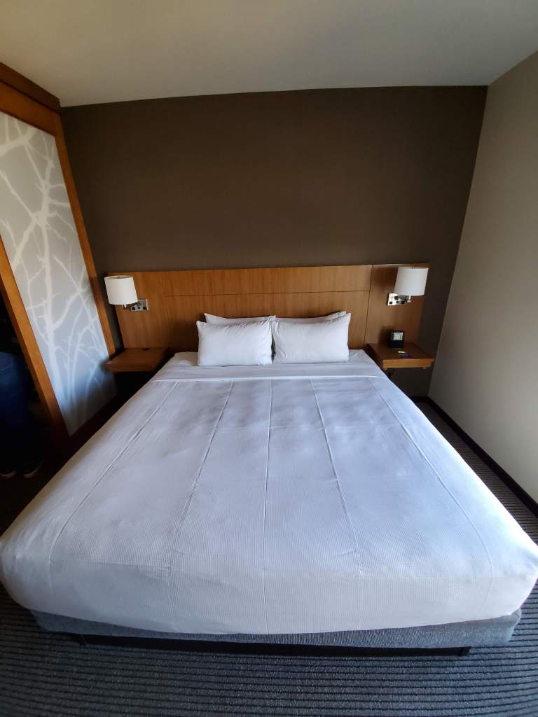 Bed, Hyatt Place, Washington DC, Room, Hotel, comfortable,