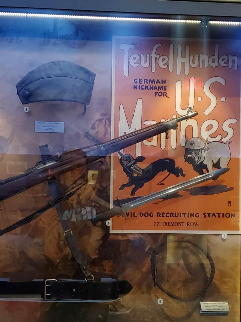 Teufel Hunden, USMC, National Museum of the Marine Corps, United States Marines, Devil Dogs, Leathernecks, Jarheads, Quantico VA, WWI
