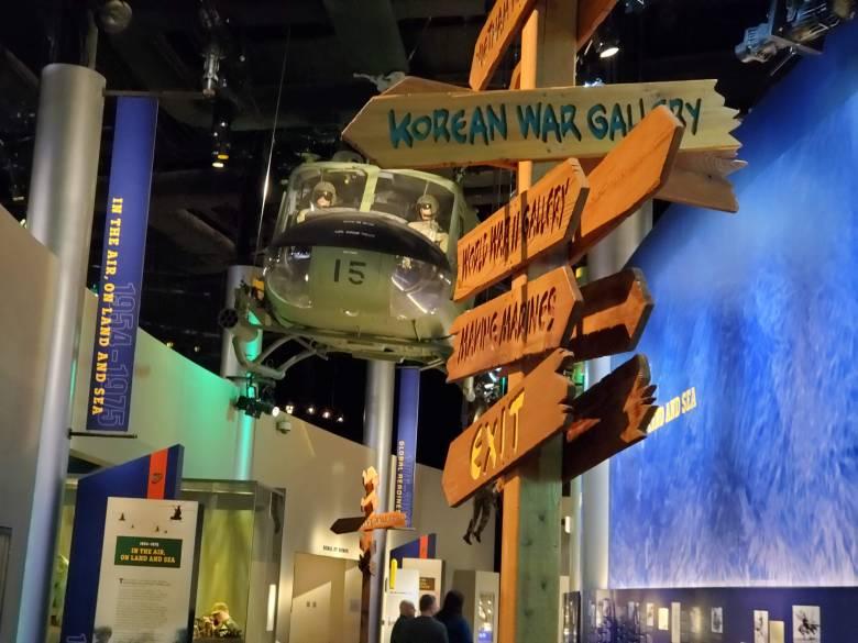 Korean War, USMC, National Museum of the Marine Corps, United States Marines, Devil Dogs, Leathernecks, Jarheads, Quantico VA,