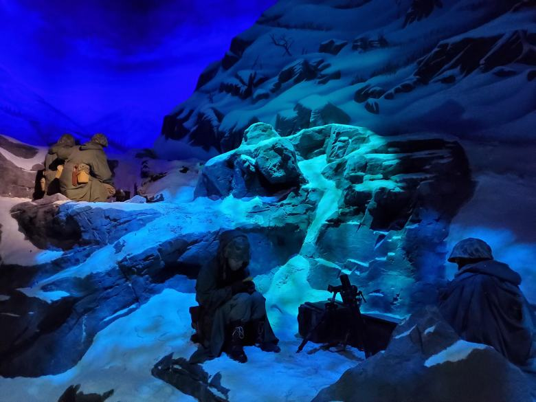 Frozen Chosin, Chosin Reservoir, USMC, National Museum of the Marine Corps, United States Marines, Devil Dogs, Leathernecks, Jarheads, Quantico VA, Korean War