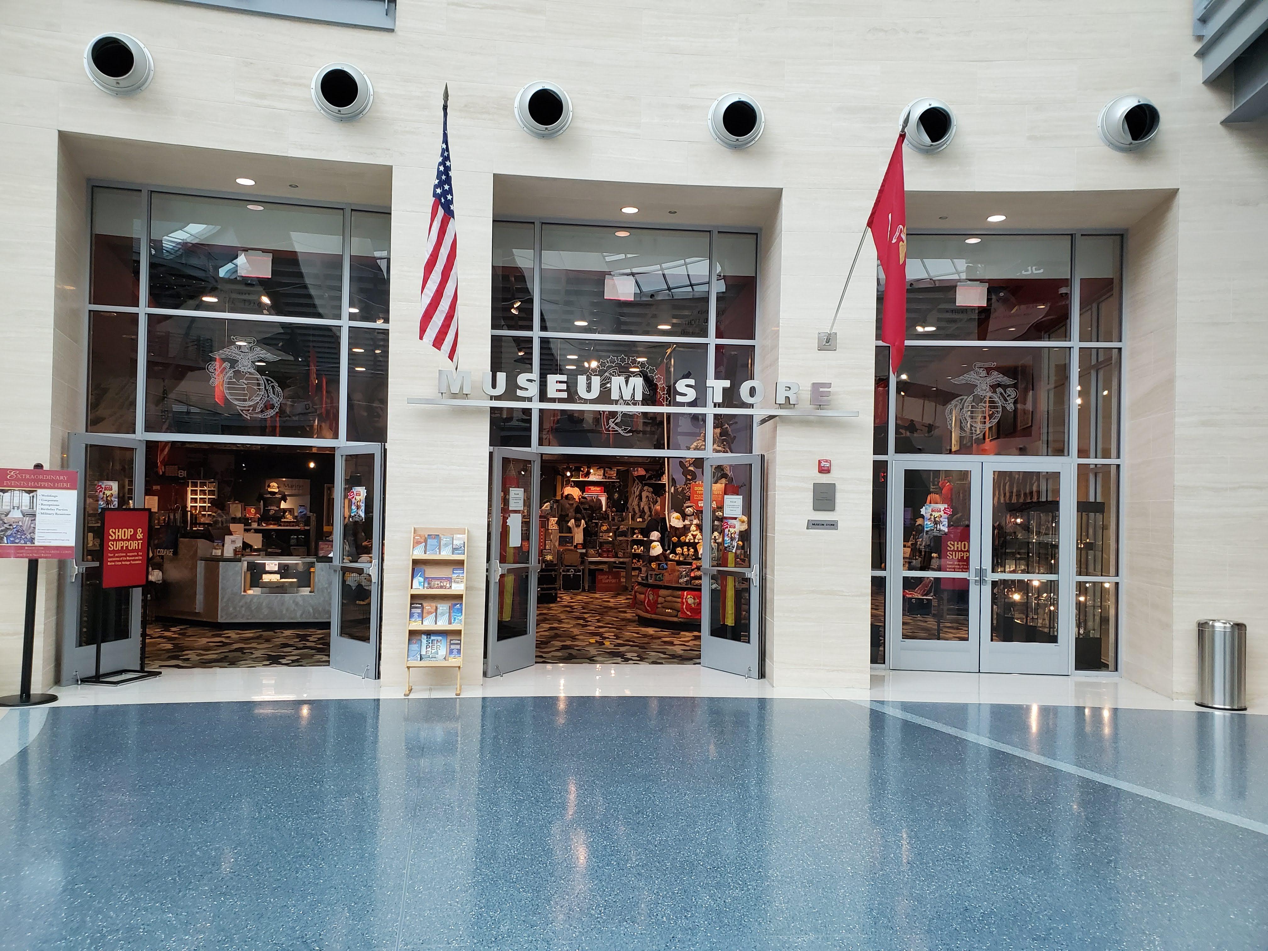 USMC, National Museum of the Marine Corps, United States Marines, Devil Dogs, Leathernecks, Jarheads, Quantico VA, Museum Store, Ooh Rah,