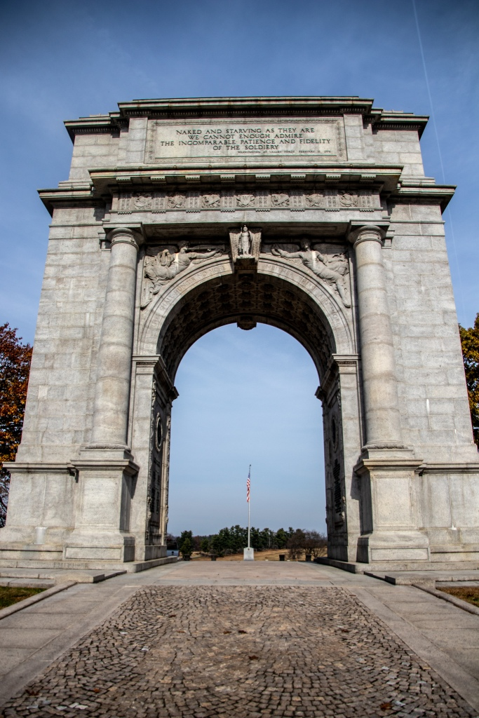 Valley Forge Historical Park, National Memorial Arch, PA, Pennsylvania, Revolutionary War,