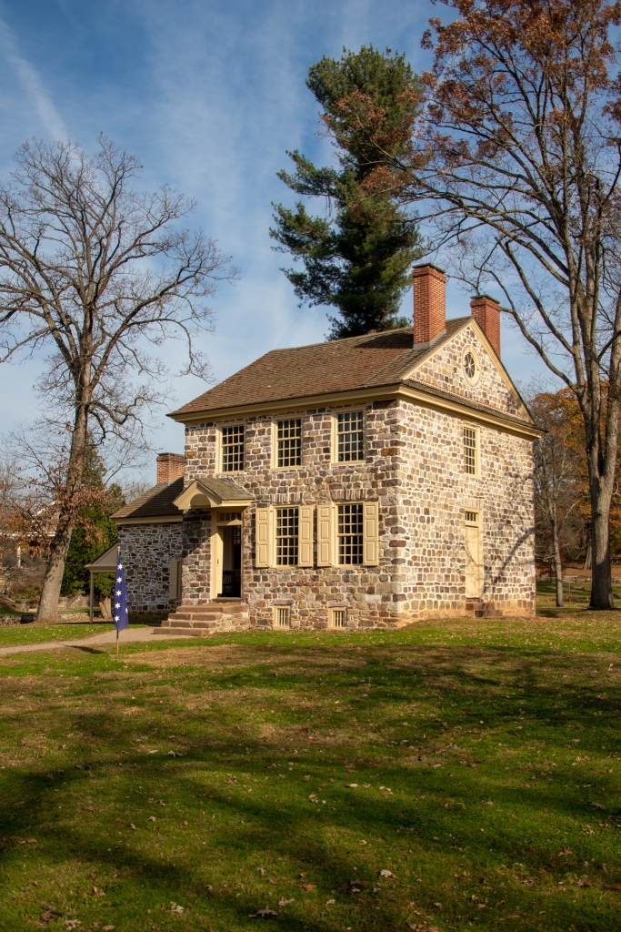 Stone House, General Washington's Headquarters, Valley Forge, National Historical Park, Military, Continental Army, winter 1777-78, PA, Pennsylvania,