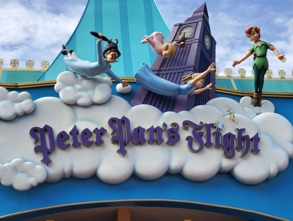 Walt Disney World, Magic Kingdom, Peter Pan's Flight, FastPass, FP+, rides, popular,